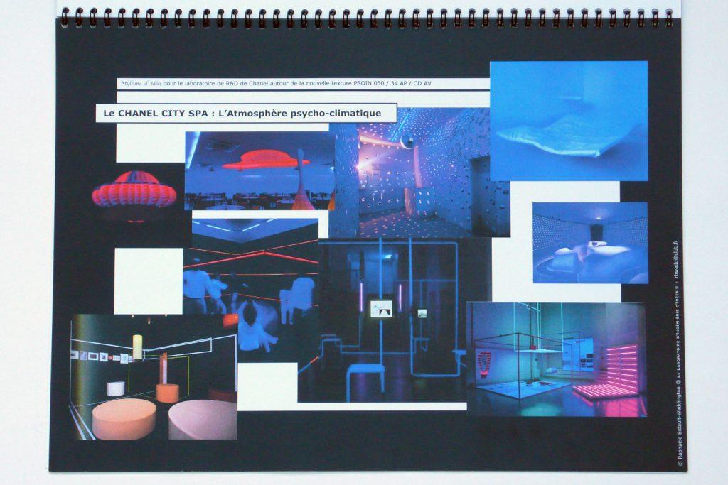 Mood-board pour recherche Critical Design