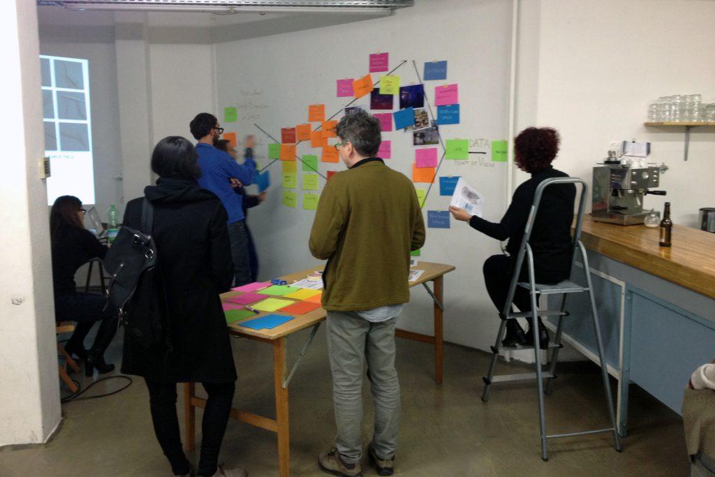 Sémiospace, exposition-recherche, Corner College, Zurich, 2014.
